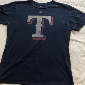 Texas Rangers Majestic T- Shirt